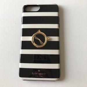 Kate Spade Striped 7&8 Plus Phone Case